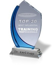 A Few Good Resources on Instructional Design « Karl Kapp | Learning & Training - www.click4it.org | Scoop.it
