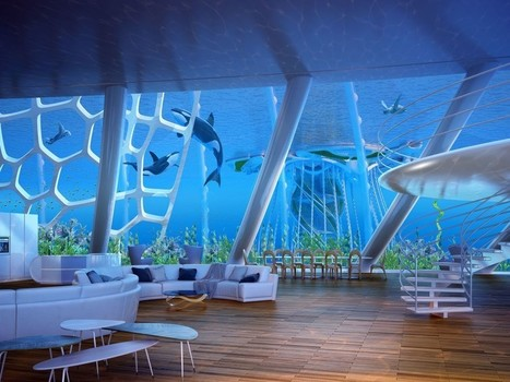 Futuristic oceanscapers are floating villages 3D-printed from algae and plastic waste   3D Printing in School (501c3)   Scoop.it