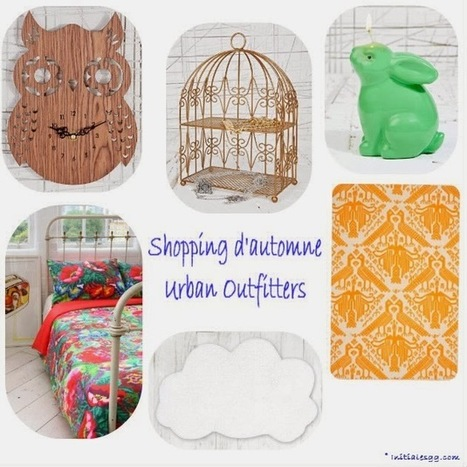Shopping d'automne chez Urban Outfitters ! | Déco Design | Scoop.it