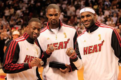 Greatest NBA Trios In Modern History | basquetbol | Scoop.it