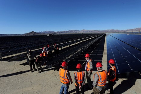 Huge solar farm opens in California: Enough energy for 160,000 homes   construction   Scoop.it