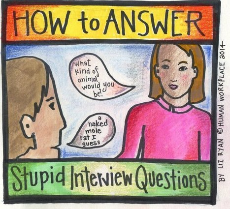 Dealing with Stupid Job Interview Questions & Soul-Crushing Jobs | Careers & Self-Aware Strength | Scoop.it