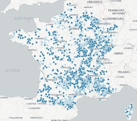 De nombreuses communes ne disposent même pas de la 2G: découvrez la carte interactive des zones blanches | AllMyTech | Scoop.it
