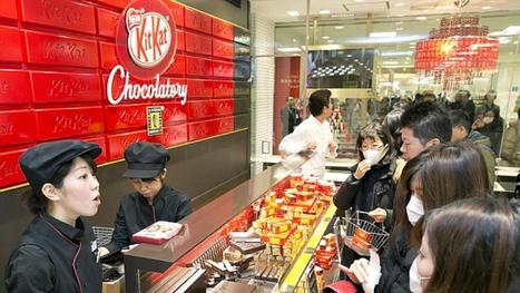 Winkel verkoopt KitKat vol kaas | japan | Scoop.it