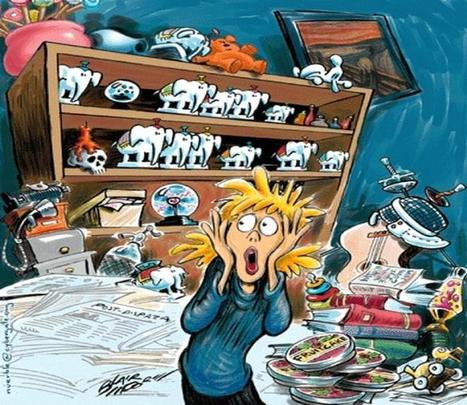 84% Say Clutter Adds to Stress | Thinking, Learning, and Laughing | Scoop.it