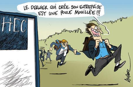 Les étudiants séduits par la création d'entreprise | Université Paris-Dauphine | Scoop.it