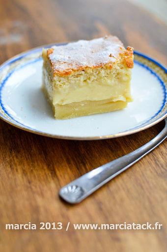 Le gâteau magique : 1 pâte pour 3 couches - Recette - Marcia 'Tack   recettes pour Kitchenaid   Scoop.it