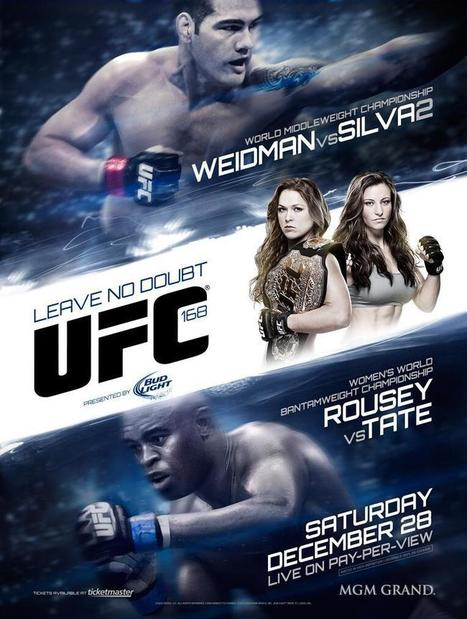 UFC 168 'Weidman vs. Silva 2': La carte est officielle avec 11 combats - MMA Nouvelles   Mark Hunt   Scoop.it