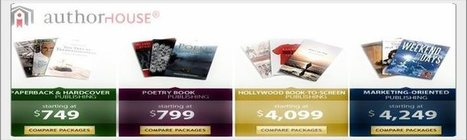 Compare Publishing Packages at AuthorHouse | AuthorHouse Publishing Events | Scoop.it