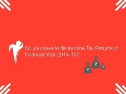 Income Tax Returns in FY 2014-15 | Paywheel | A Tricon Infotech Product | Information Technology | Scoop.it