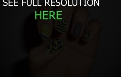 cool nail designs on short nails | nail art | Scoop.it