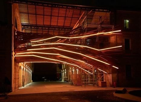Generative Light Sculpture | Léa Benatar | Scoop.it