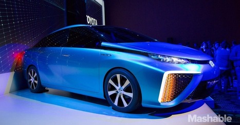 Toyota Shows Off Fuel Cell Vehicle Powered by Hydrogen, Air | RaijeC8 | Scoop.it