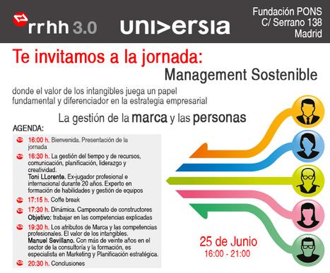 Management Sostenible - La gestión de la marca y las personas - LinkedWoman | LinkedIn & Marca Personal | Scoop.it