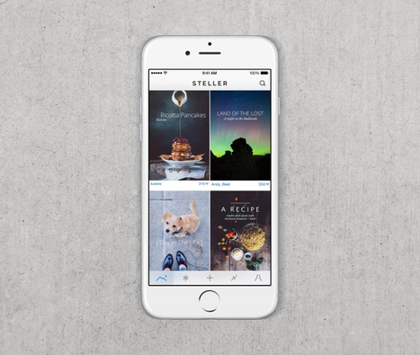 Steller Storytelling App Gets A Huge Makeover | Multimedia Journalism | Scoop.it