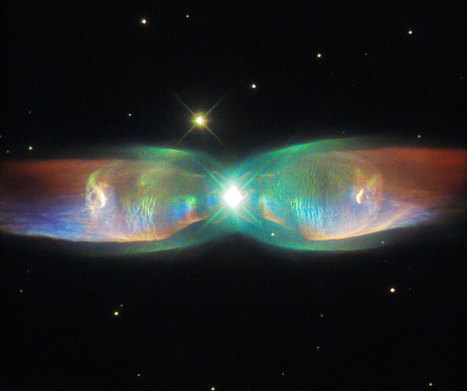Hubble Sees the Wings of a Butterfly: The Twin Jet Nebula | STEM Connections | Scoop.it