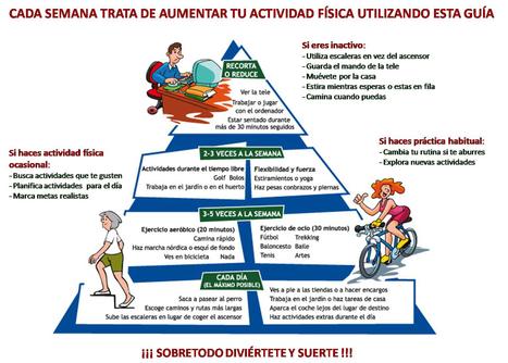 Pirámide de la Actividad Física | inclusión en las practicas deportivas | Scoop.it