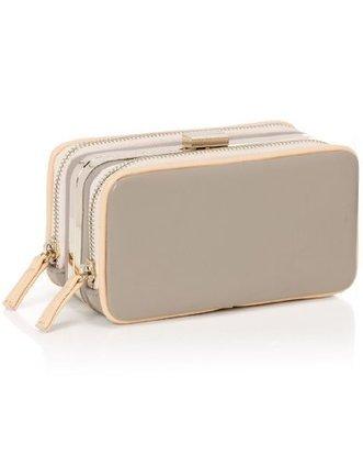 ###   Accessorize Damen Pochette mit Bügelrahmen und Reißverschlusstasche Größe Einheitsgröße Pink | Clutch Bags Online | Scoop.it