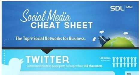 Social Media Cheat Sheet for Small Businesses | MyBeak Social Media | Social Mercor | Scoop.it