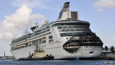 Royal Caribbean cruise cancelled in Bahamas after fire | BBC News Magazine | Scoop.it