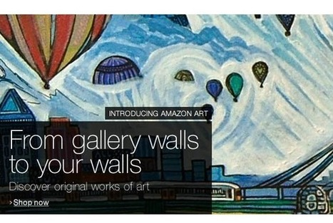 Amazon Art launches with fine art from 4,500 artists, including Rockwell, Warhol, and Monet | PCWorld | E-commerce & Marketplaces | Scoop.it
