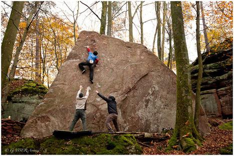 escalade-alsace blog :: Landersberg : un nouveau secteur de bloc ! | ski de randonnée-alpinisme-escalade | Scoop.it