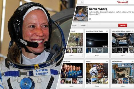 Astronaut Karen Nyberg Is a Pinterest Star | Everything Pinterest | Scoop.it