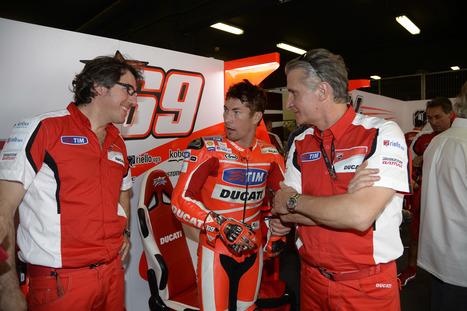 Barcelona MotoGP Ducati Team   Saturday Photos   Moto GP   Scoop.it