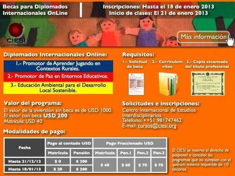 Diplomados Internacionales Online - RedDOLAC - Red de Docentes de América Latina y del Caribe - | RedDOLAC | Scoop.it