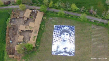 "A giant art installation targets predator drone operators | ""Asian Spring"" 