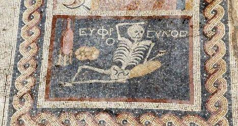 """""""Sé feliz, disfruta de la vida... con vino"""", un lema del siglo III a.C.   LVDVS CHIRONIS 3.0   Scoop.it"""
