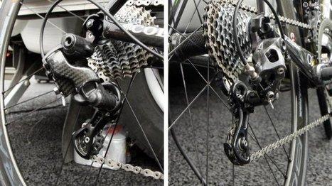 Prototype de groupe Campagnolo vu sur le Giro | NEWS actus Vélos | Scoop.it