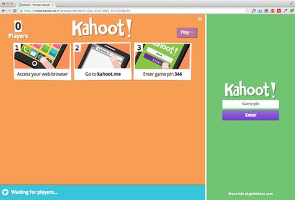 Kahoot   quiz in de klas om te differentiëren   E-learning, Blended learning, Apps en Tools in het Onderwijs   Scoop.it