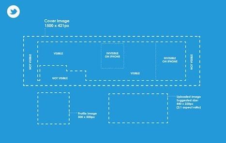 Les Dimensions des Images des Réseaux sociaux | Etude & infographie | Scoop.it