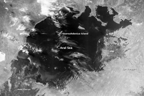 The Aral Sea, Before the Streams Ran Dry : Image of the Day | Remote Sensing News | Scoop.it