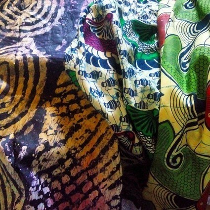 (Re)Discover a culture beyond your imagination., #African #print #fabric #cotton #bazin #ankara... | art contemporain africain | Scoop.it