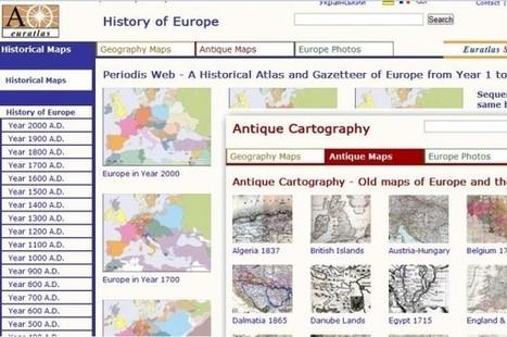 Euratlas, mapas históricos de Europa en formato digital | CEREGeo - Geomática | Scoop.it