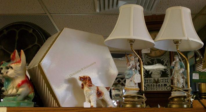Romantic Vintage Boudoir Lamps | Antiques & Vintage Collectibles | Scoop.it