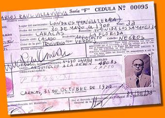 Biografía de Carlos Raul Villanueva | ALMA LLANERA, pequeña Venecia | Scoop.it