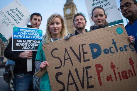 Majority back striking doctors amid fears Hunt's plans will worsen NHS   nhswatch   Scoop.it