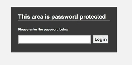 Password Protect | List of articles on securing your password | Scoop.it
