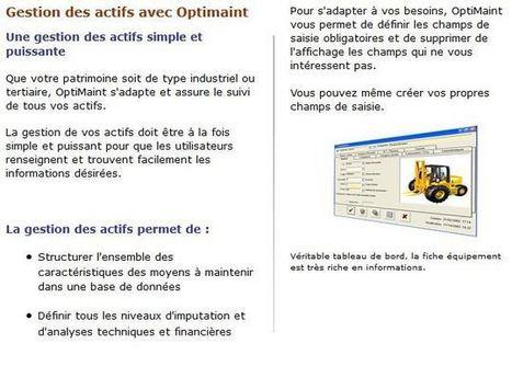 Apisoft, concepteur de logiciels de maintenance GMAO | multi-medias | Scoop.it