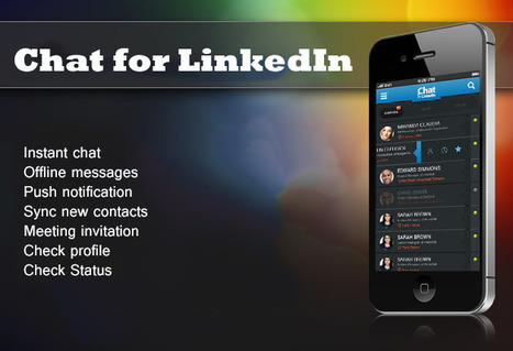 Stay Connected with your LinkedIn Connect by Chat for LinkedIn™   Blink Chat for LinkedIn™   Scoop.it