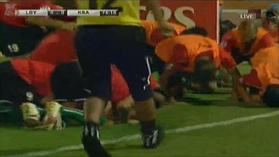 Twitter / WORLDLOVERPEACE: سجدة لاعبيين ا   Libya from Egyptday1   Scoop.it
