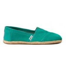 Spectra Green Perforated Suede Women's Classics | TOMS.com | expensiven | Scoop.it