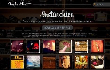 Télécharger ses photos Instagram en un clic | Time to Learn | Scoop.it