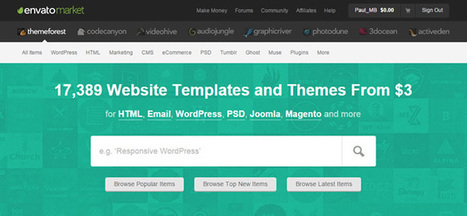 The WordPress Theme Buyers' Guide to ThemeForest - Market Blog | Public Relations & Social Media Insight | Scoop.it