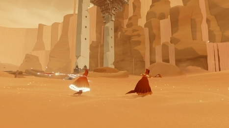 Deconstructing the art design of Journey | Game development | Scoop.it