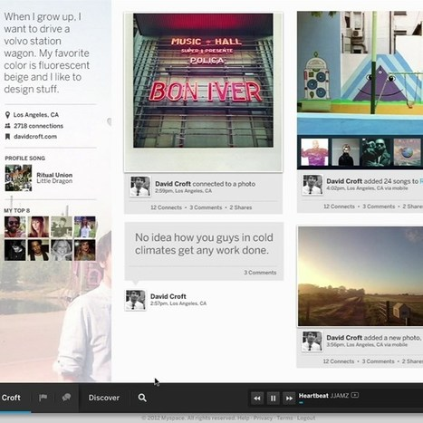 MySpace redesign and vast music collection could tempt users back | Music business | Scoop.it