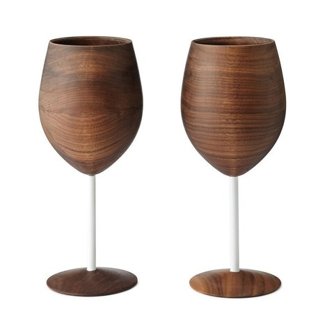 Wooden Wine Glasses - $120 | Diary of a serial foodie | Scoop.it
